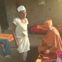 Saint Vicharan at Gollav Village, Godhara District on 02-09-2015